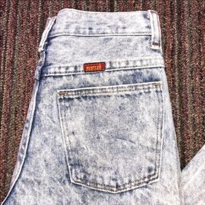 Vintage high rise wedgie jeans
